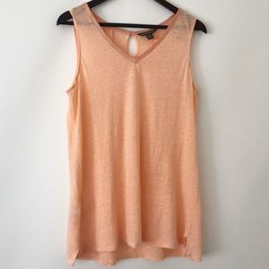Tommy Bahama knit linen tank top